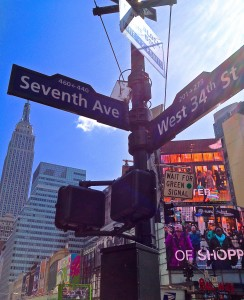 450 Seventh Ave Sign